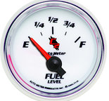 "Autometer Gauge, Fuel Level, 2 1/16"", 240?E to 33?F, Elec, C2 7116"