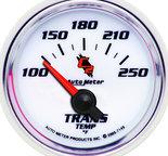 "Autometer Gauge, Transmission Temp, 2 1/16"", 100-250şF, Electric, C2 7149"
