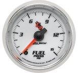 "Autometer Gauge, Fuel Pressure, 2 1/16"", 15psi, Digital Stepper Motor, C2 7162"
