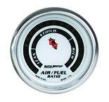 """Autometer Gauge, Air/Fuel Ratio-Narrowband, 2 1/16"""", Lean-Rich, LED Array, C2 7175"""