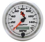 """Autometer Gauge, Speedometer, 3 3/8"""", 160mph, Elec. Programmable, C2 7288"""