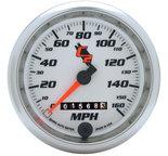 "Autometer Gauge, Speedometer, 3 3/8"", 160mph, Mechanical, C2 7293"