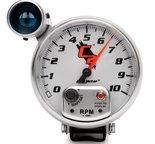 """Autometer Gauge, Tachometer, 5"""", 10k RPM, Pedestal w/ ext. Shift-Lite, C2 7299"""