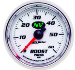 "Autometer Gauge, Boost, 2 1/16"", 60psi, Mechanical, NV 7305"