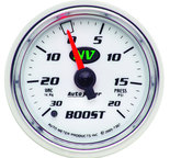 "Autometer Gauge, Vac/Boost, 2 1/16"", 30inHg-20psi, Mechanical, NV 7307"