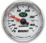 "Autometer Gauge, Vac/Boost, 2 1/16"", 30inHg-45psi, Mechanical, NV 7308"