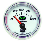 "Autometer Gauge, Oil Pressure, 2 1/16"", 100psi, Electric, NV 7327"