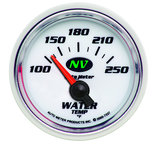 "Autometer Gauge, Water Temp, 2 1/16"", 100-250şF, Electric, NV 7337"
