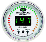 "Autometer Gauge, Air/Fuel Ratio-PRO, 2 1/16"", 10:1-20:1, Digital w/ Peak & Warn, NV 7378"