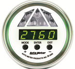 Autometer Gauge, Shift Light, Digital RPM w/ Blue LED Light, DPSS Level 1, NV 7387
