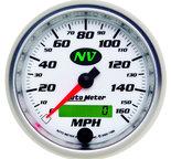 "Autometer Gauge, Speedometer, 3 3/8"", 160mph, Elec. Programmable, NV 7488"