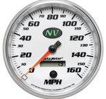 "Autometer Gauge, Speedometer, 5"", 160mph, Elec. Programmable, NV 7489"