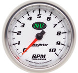 "Autometer Gauge, Tachometer, 3 3/8"", 10k RPM, In-Dash, NV 7497"