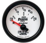 "Autometer Gauge, Fuel Level, 2 1/16"", 0-280? Programmable, Phantom II 7513"