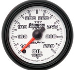 "Autometer Gauge, Oil Temp, 2 1/16"", 140-280şF, Digital Stepper Motor, Phantom II 7556"
