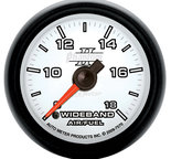 "Autometer Gauge, Air/Fuel Ratio-Wideband, Analog, 2 1/16"", 8:1-18:1, Stepper Motor, Phantom II 7570"