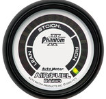 "Autometer Gauge, Air/Fuel Ratio-Narrowband, 2 1/16"", Lean-Rich, LED Array, Phantom II 7575"