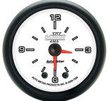 "Autometer Gauge, Clock, 2 1/16"", 12Hr, Analog, Phantom II 7585"