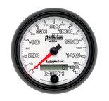 """Autometer Gauge, Speedometer, 3 3/8"""", 160mph, Elec. Programmable, Phantom II 7588"""