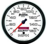 """Autometer Gauge, Speedometer, 5"""", 160mph, Elec. Programmable, Phantom II 7589"""