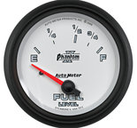 "Autometer Gauge, Fuel Level, 2 5/8"", 73?E to 10?F, Elec, Phantom II 7815"