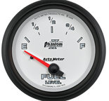 "Autometer Gauge, Fuel Level, 2 5/8"", 240?E to 33?F, Elec, Phantom II 7816"