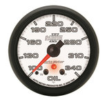 "Autometer Gauge, Oil Temp, 2 1/16"", 340şF, Stepper Motor w/ Peak & Warn, Phantom II 7856"