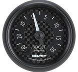 "Autometer Gauge, Vac/Boost, 2 1/16"", 30inHg-20psi, Mechanical, GT 8001"