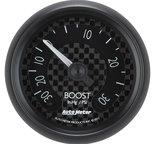 "Autometer Gauge, Vac/Boost, 2 1/16"", 30inHg-30psi, Mechanical, GT 8003"