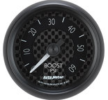 "Autometer Gauge, Boost, 2 1/16"", 60psi, Mechanical, GT 8005"