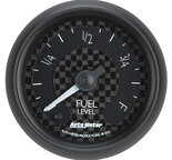"Autometer Gauge, Fuel Level, 2 1/16"", Programmable, GT 8010"