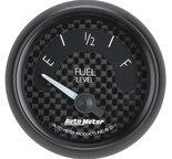 "Autometer Gauge, Fuel Level, 2 1/16"", 0?E to 90?F, Elec, GT 8014"