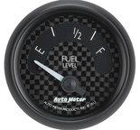 "Autometer Gauge, Fuel Level, 2 1/16"", 73?E to 10?F, Elec, GT 8015"