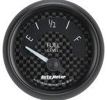 "Autometer Gauge, Fuel Level, 2 1/16"", 240?E to 33?F, Elec, GT 8016"