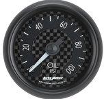 "Autometer Gauge, Oil Press, 2 1/16"", 100psi, Mech, GT 8021"