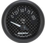 "Autometer Gauge, Oil Press, 2 1/16"", 100psi, Elec, GT 8027"