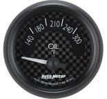 """Autometer Gauge, Oil Temp, 2 1/16"""", 300şF, Elec, GT 8048"""