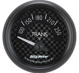 "Autometer Gauge, Trans Temp, 2 1/16"", 250şF, Elec, GT 8049"