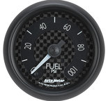 """Autometer Gauge, Fuel Pressure, 2 1/16"""", 100psi, Digital Stepper Motor, GT 8063"""