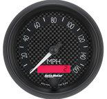 """Autometer Gauge, Speedometer, 3 3/8"""", 160mph, Elec. Programmable, GT 8088"""