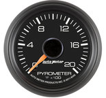 "Autometer Gauge, Pyrometer (EGT), 2 1/16"", 2000şF, Stepper Motor, GM Factory Match 8345"