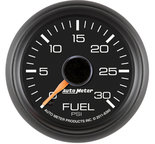 "Autometer Gauge, Fuel Pressure, 2 1/16"", 30psi, Digital Stepper Motor, GM Factory Match 8360"
