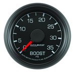 """Autometer Gauge, Boost, 2 1/16"""", 35psi, Mechanical, Ford Factory Match 8404"""