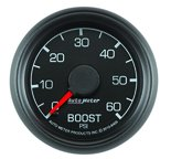 """Autometer Gauge, Boost, 2 1/16"""", 60psi, Mechanical, Ford Factory Match 8405"""