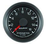 """Autometer Gauge, Pyrometer (EGT), 2 1/16"""", 1600şF, Stepper Motor, Ford Factory Match 8444"""