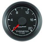 """Autometer Gauge, Pyrometer (EGT), 2 1/16"""", 2000şF, Stepper Motor, Ford Factory Match 8445"""