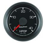 """Autometer Gauge, High Press Oil Pump, 2 1/16"""", 4kpsi, Stepper Motor, Ford Factory Match 8496"""