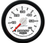"Autometer Gauge, Boost, 2 1/16"", 60psi, Mechanical, Ram Gen 3 Factory Match 8505"