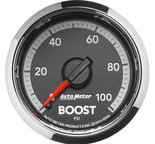 "Autometer Gauge, Boost, 2 1/16"", 100psi, Mechanical, Ram Gen 4 Factory Match 8509"