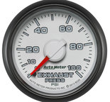 "Autometer Gauge, Exhaust Press., 2 1/16"", 100psi, Mechanical, Ram Gen 3 Factory Match 8526"